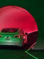 پروژه سیستم حملونقل زیر زمینی خودرو سازي تسلا